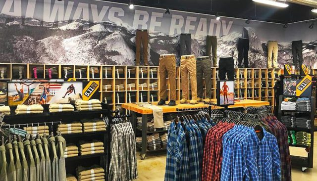 CLS | 5.11 Tactical Store Photo