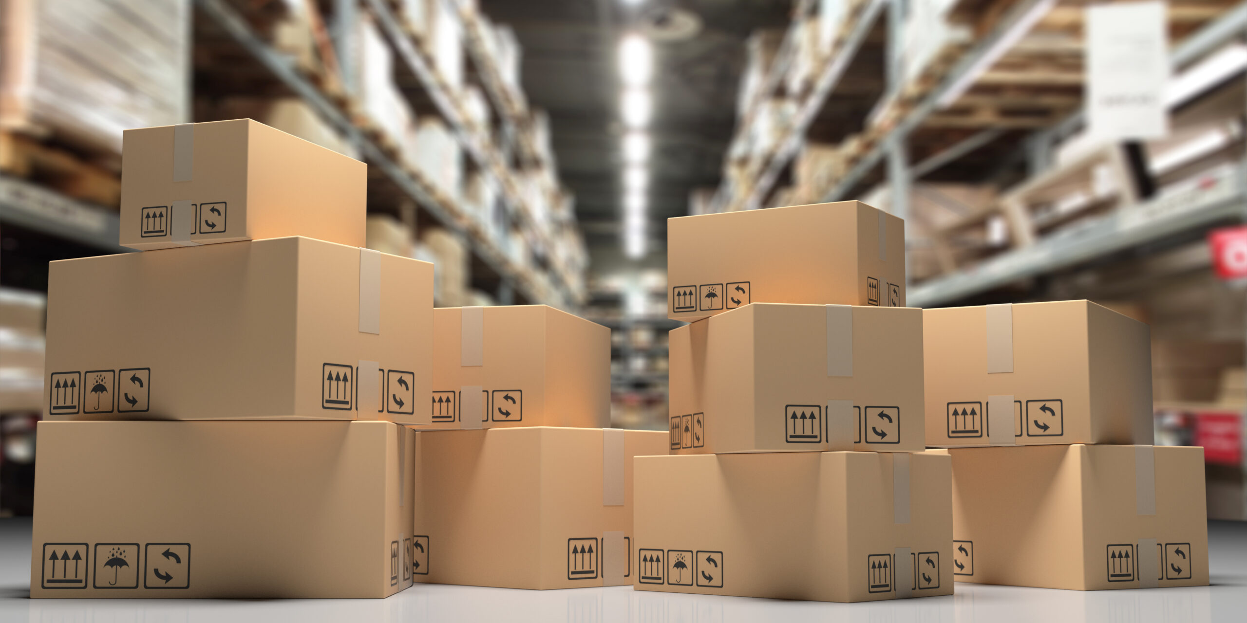 Parcels in warehouse - CLS Shipping Software Blog